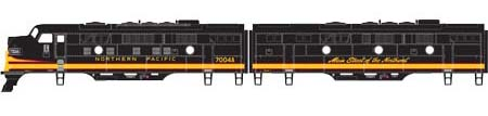 HO F9 A/B, NP/Freight #7004D/#7004C